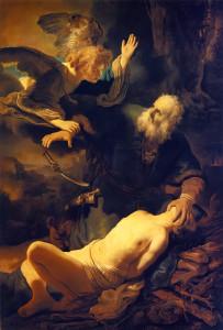 Abraham and Issac Rembrandt van Rijn, 1634
