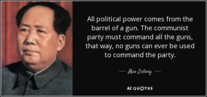 Popular Communist opinion on guns.