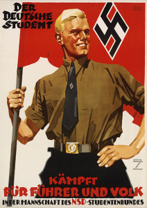 TZP_Poster-The-German-Student-Fights-for-the-Fuhrer-and-the-People