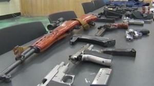 scary black guns