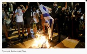 The Israeli Flag was burned at the DNC